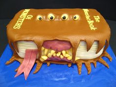 Harry Potter, The Monster Book of Monsters birthday cake