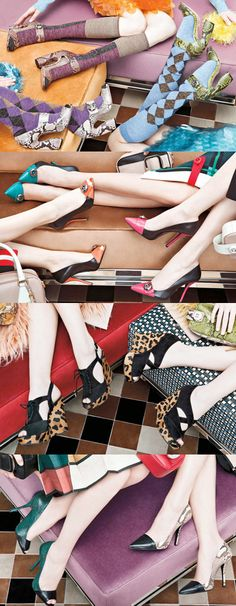 #Prada Fall Campaign #shoes