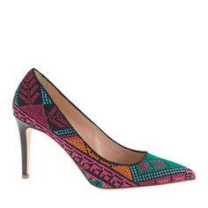 Collection Everly cross-stitch pumps - pumps & heels - Women's shoes - J.Crew