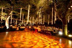 elegant outdoor dancefloor