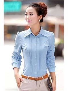 Imágenes Mujer Blusas Mejores 131 Blouses Oficina Shirt De qg55a