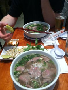 Pho. I could live off of this stuff
