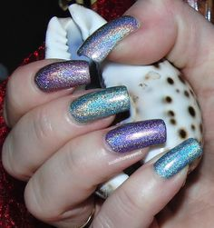 china glaze kaleidoscope skittles manicure