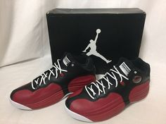 37e9465da56 New Nike Air Jordan Jumpman Team 1 Basketball Shoes Sz 11.5 Red Black 644938  004