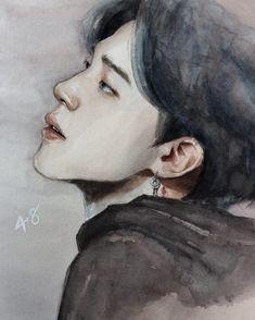@for_infinity #JIMIN 🥀🦋 Jimin Fanart, Kpop Fanart, Kpop Drawings, Bts Chibi, Korean Art, Polychromos, Colorful Drawings, Bts Jimin, Bts Wallpaper