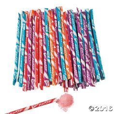"Pass out the Pixy Stix® at your next ""pixie"" party! These 6 1/4 candy-filled straws are a flavorful way to fiesta! Stuff this classic treat ..."