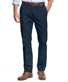 dcd83b0a38c0 Tommy Hilfiger Men s Custom Fit Chino Pants