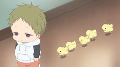 Kotaro and chicks/School babysitters the best character/ 学園ベビーシッターズ Anime Chibi, Kawaii Anime, Manga Anime, Anime Trap, Anime Bleach, Anime Tumblr, Gakuen Babysitters, Lore Olympus, Love Stage