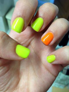 Fluo nails!