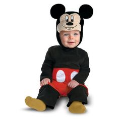 Disney Character Costumes : Infant Mickey Costume (6-12 months) Disney