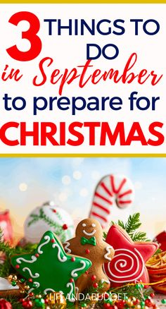 If you're searching for Christmas preparation ideas that you can begin working on as early as July, you're in the right place. Check out this Christmas planning guide and grab the free checklist. Christmas On A Budget, Christmas In July, Simple Christmas, All Things Christmas, Christmas Crafts, Christmas Decorations, Christmas Ideas, Christmas Tables, Nordic Christmas