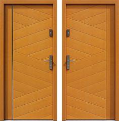 Drzwi wejściowe z kolekcji INOX model 430,1-430,11 produkcji AFB-Kraków