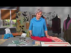 UP Cycle Sewing with Sweaters Its Sew Easy TV - YouTube Sewing Crafts, Sewing Projects, Sewing Ideas, Clothing Patterns, Sewing Patterns, Altering Pants, Sweatshirt Makeover, Sweater Refashion, Advanced Style