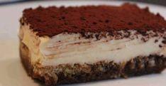 How to make tiramisu, In search of the best tiramisu, recipes, travel. No Bake Desserts, Just Desserts, Amaretto Tiramisu, How To Make Tiramisu, Dessert Shots, Custard, Parfait, Baking Recipes, Cooking Tips
