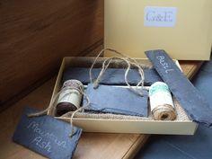 Gardener's Slate Gift Set £19.50