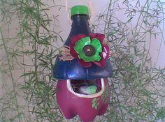 DIY Plastic Bottle Craft Idea For Bird Home