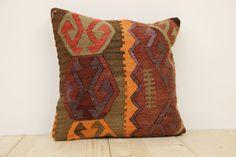 Hand Woven Turkish Kilim Cushion/ pillow Cover by kilimwarehouse, $49.00