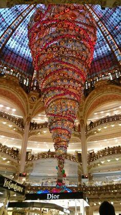 Galeries Lafayette Haussmann en Paris, Île-de-France