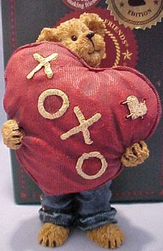 boyds bears | Cuddly Collectibles - Boyds Bearstones Teddy Bear Figurines and ...