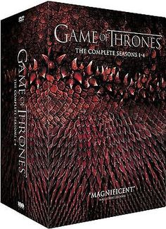 Game of thrones #seasons 1-4 dvd box set #brand new & #sealed free & fast post,  View more on the LINK: http://www.zeppy.io/product/gb/2/131885805233/