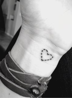 "I've always wanted something like this, to ""wear my heart on my sleeve"""