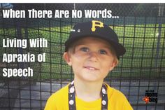 When There Are No Words: Living with Apraxia of Speech | Red Stick Moms Blog