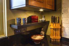 Stunning Japanese, timber kitchen. www.thekitchendesigncentre.com.au @thekitchen_designcentre