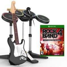 Rock Band 4 Band-In-A-Box Xbox One Software Bundle: Amazon.co.uk: PC & Video…