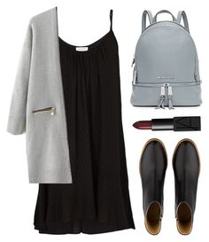 """""""i wish that I could wake up with amnesia"""" by novalikarida ❤ liked on Polyvore featuring Velvet, A.P.C., MICHAEL Michael Kors and NARS Cosmetics"""