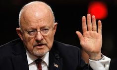 Hello my name is James Clapper. I was director of National Intelligence when I lied under Oath to congress and the American people saying we were not spying on innocent American's. Good thing Scandal Free Obama was in charge and the MSM didn't care Donald Trump, Reactor, Trump Jr, Political Views, Best Relationship, Presidential Election, Barack Obama, Decir No, Interview