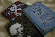 Heinäkuun 2015 Teema-arvo: alakulttuurit. Mathias Maizieun Sydämen mekaniikka ja J.K. Rowlingin The Tales of Beedle the Bard