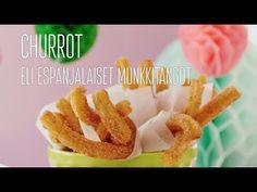 Churrot eli espanjalaiset munkkitangot | Makeat leivonnaiset | Reseptit – K-ruoka.fi