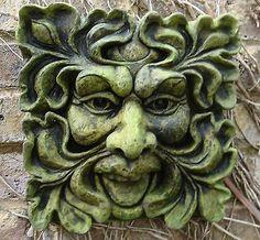 Green Man Plaque.