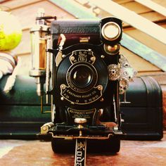 A Steampunk Camera by ~Poseidonadventurer on deviantART