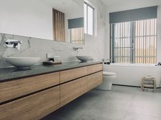 Bathroom Makeovers, Double Vanity, Small Bathroom, Home, Small Shower Room, Ad Home, Homes, Haus, Double Sink Vanity