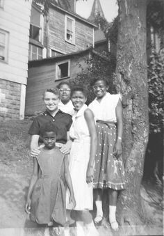 My Aunt Dora Mae in the front, my Mom in the back on the left and my Aunt Sugar in the back on the right.  DLA Family Vintage Collection