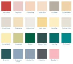 Mid Century Modern Color Palette
