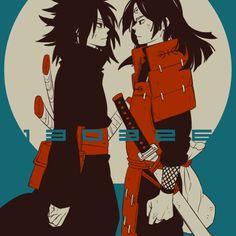Madara Uchiha & Hashirama Senju - Naruto