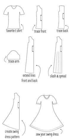 Swing Dress Tutorial :: Dandelion Drift