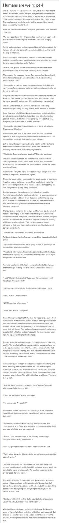 Humans are weird pt 4