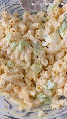 Apr 2020 - Old fashioned macaroni salad is the retro recipe that will remind you of growing up at Grandmas. Cue the big scoops on the side and lets get busy making this simple, but delicious, macaroni salad party side dish! Cold Macaroni Salad, Homemade Macaroni Salad, Classic Macaroni Salad, Cold Pasta, Macaroni Recipes, Macaroni Salad Recipe With Pickles, Chicken Macaroni Salad Filipino, American Macaroni Salad Recipe, Simple Macaroni Salad
