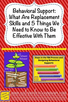 What Are Replacement Behaviors and What Do We Need To Know to Be Effective? by Autism Classroom News at http://www.autismclassroomnews.com