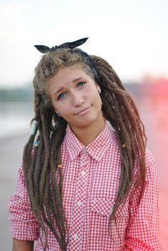 so cute!! i really want dreads! but i dont want to shave my head to take them out.. And you don't have to. Dreads can be undone. Use a comb and conditioner and work very gently from the bottom, using your fingers to pull out the dust and tangles.