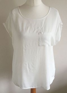 Ladies New Flared Sleeve Gothic Top Black White Size 16 18 20 22 24 *LICK*