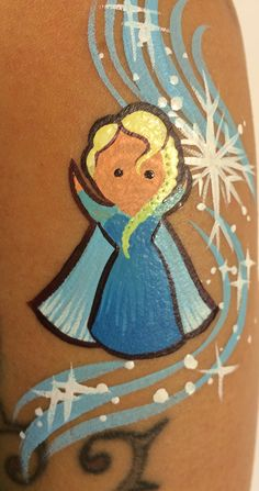 Princess (Elsa) Forearm Art