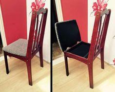 Un compartiment caché dans la chaise