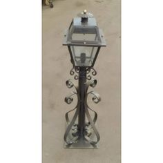 Wrought Iron Lantern. Customize Realisations. 383