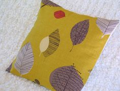 Cushion cover 'Perry Green'. £12.00, via Etsy.