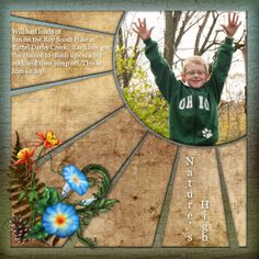 boyscout scrapbook layouts | King of the Rock_me - Digital Scrapbook Place Gallery
