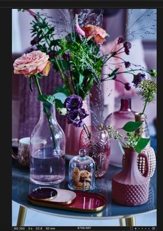 Tøsede vaser Styling: Pernille Albers